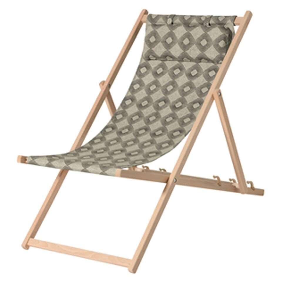Madison strandstoel outdoor Rondo - groen - Leen Bakker