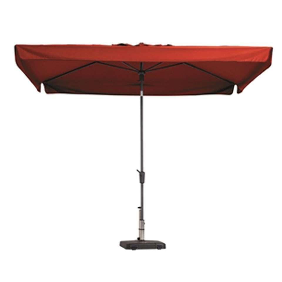 Madison parasol Delos - rood - 200x300 cm - Leen Bakker
