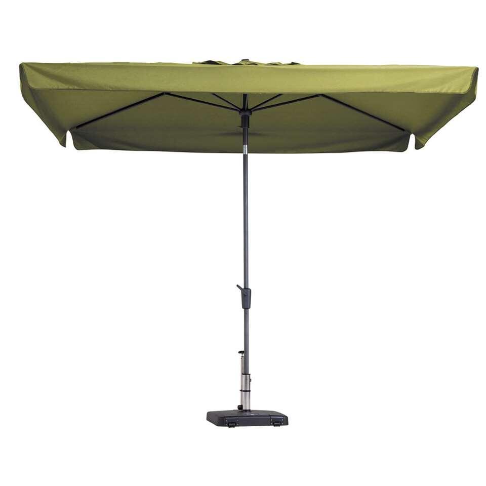 Madison parasol Delos - grijs - 200x300 cm - Leen Bakker