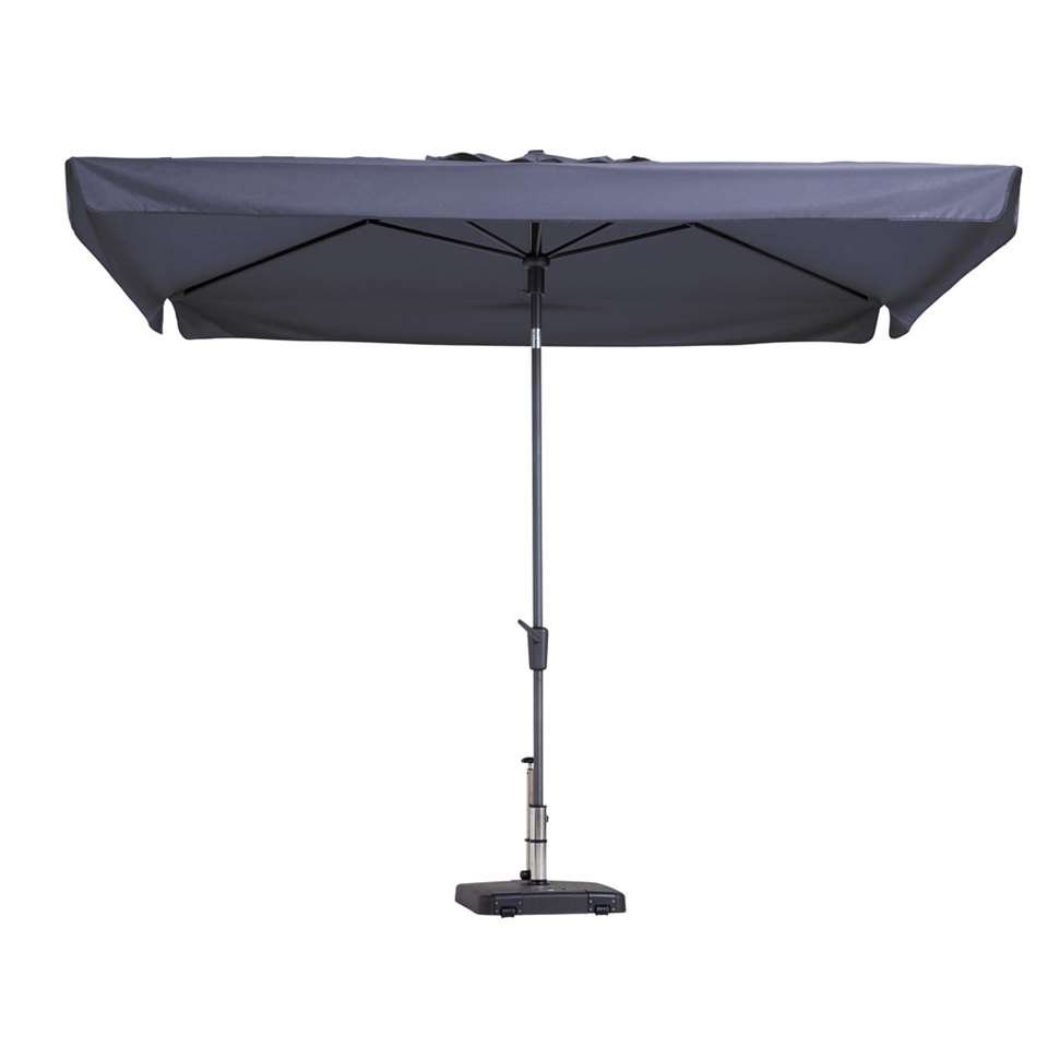 Madison parasol Delos - blauw - 200x300 cm - Leen Bakker