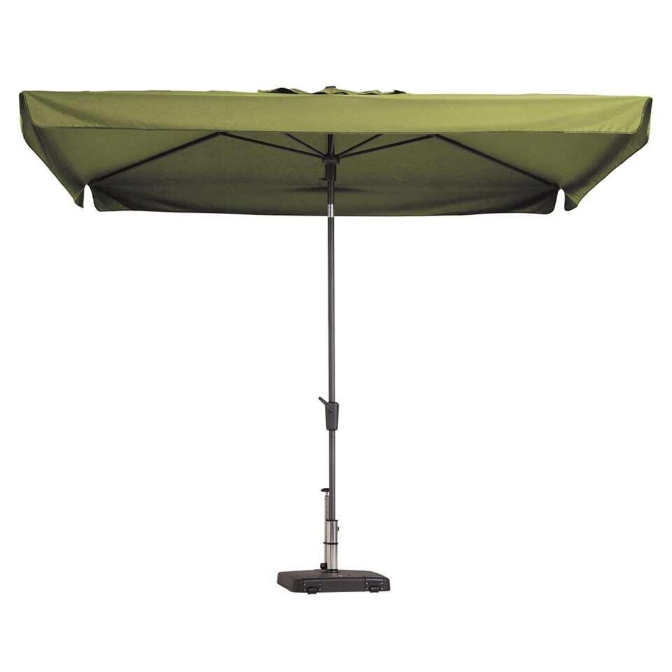 Madison parasol Delos - groen - 200x300 cm - Leen Bakker