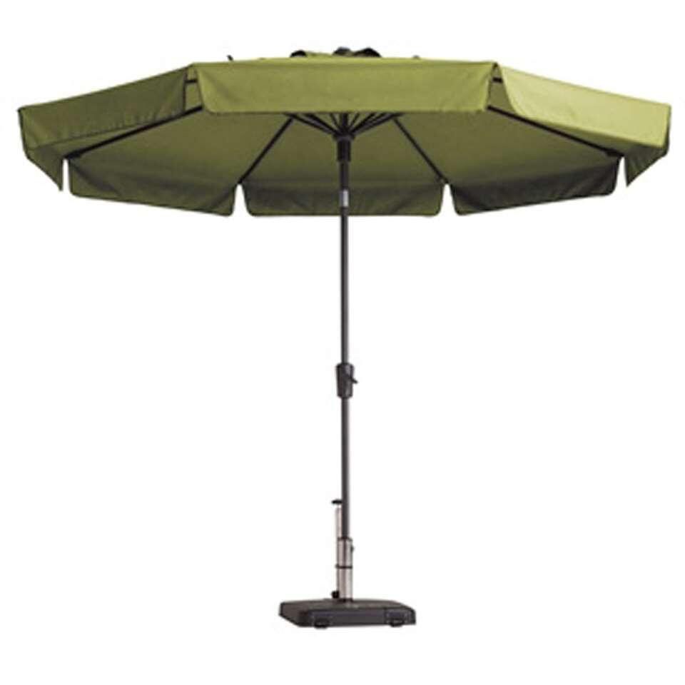 Madison parasol Flores - groen - Ø300 cm - Leen Bakker