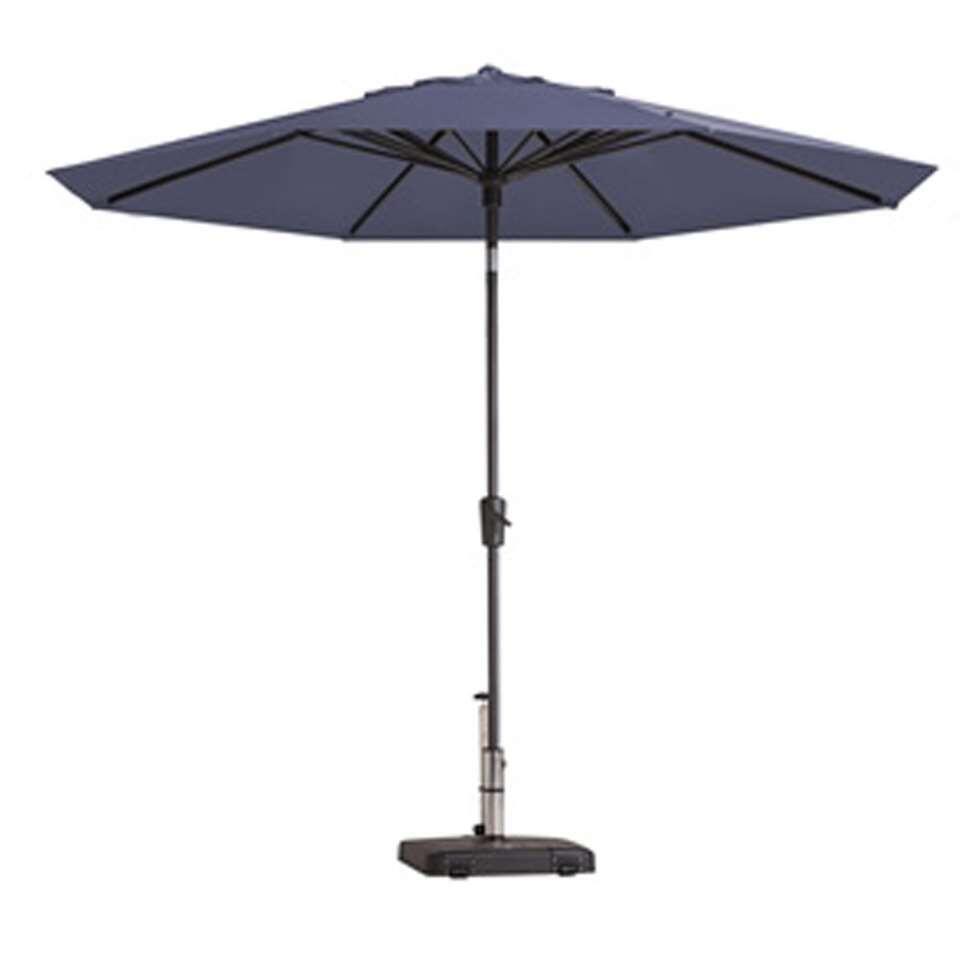 Madison parasol Paros - blauw - Ø300 cm - Leen Bakker