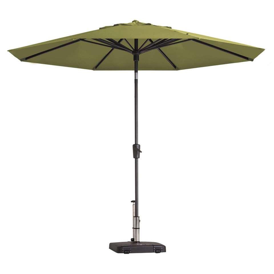 Madison parasol Paros - groen - Ø300 cm - Leen Bakker