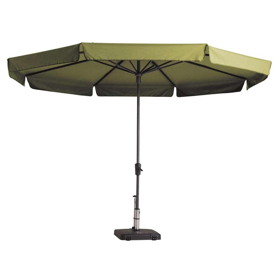 Madison parasol Syros - groen - Ø350 cm - Leen Bakker