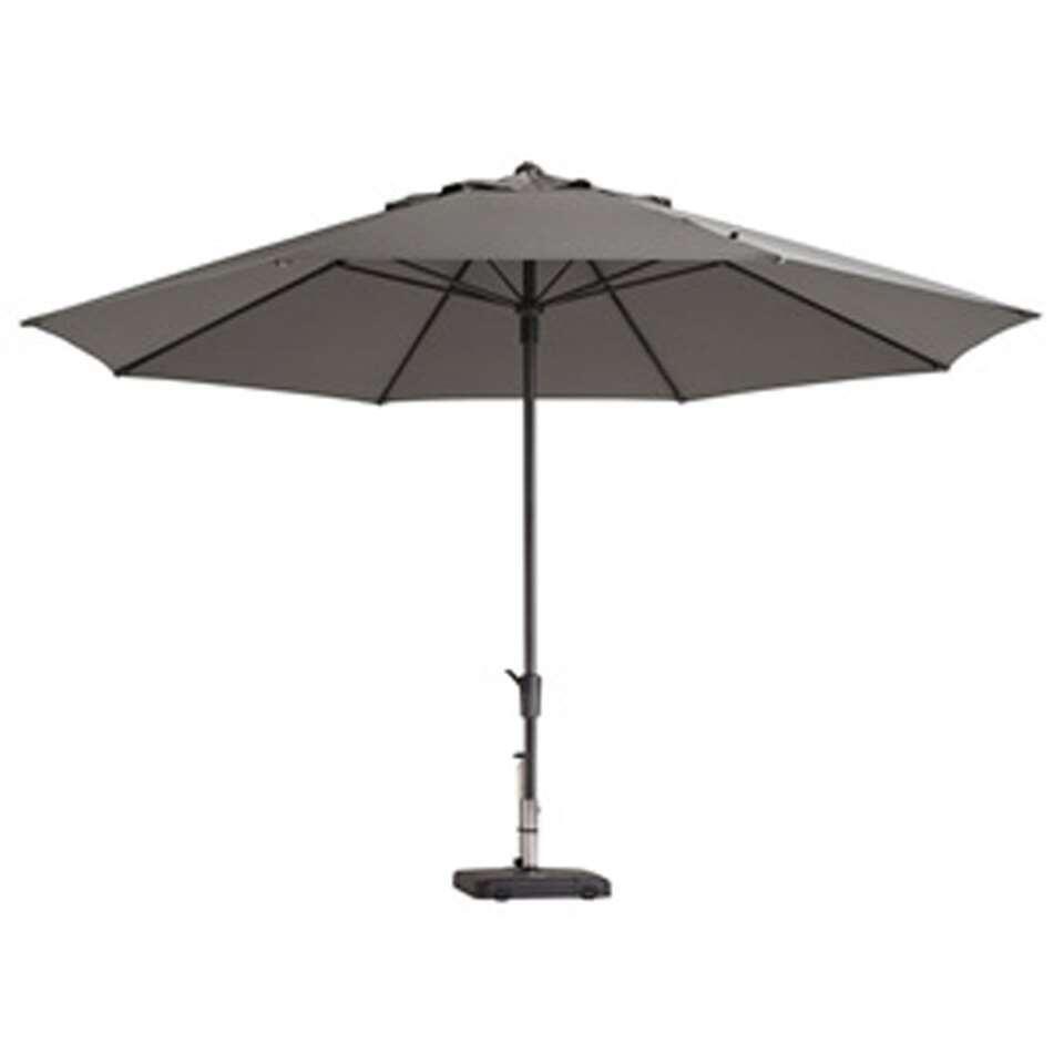 Madison parasol Timor - lichtgrijs - Ø400 cm - Leen Bakker