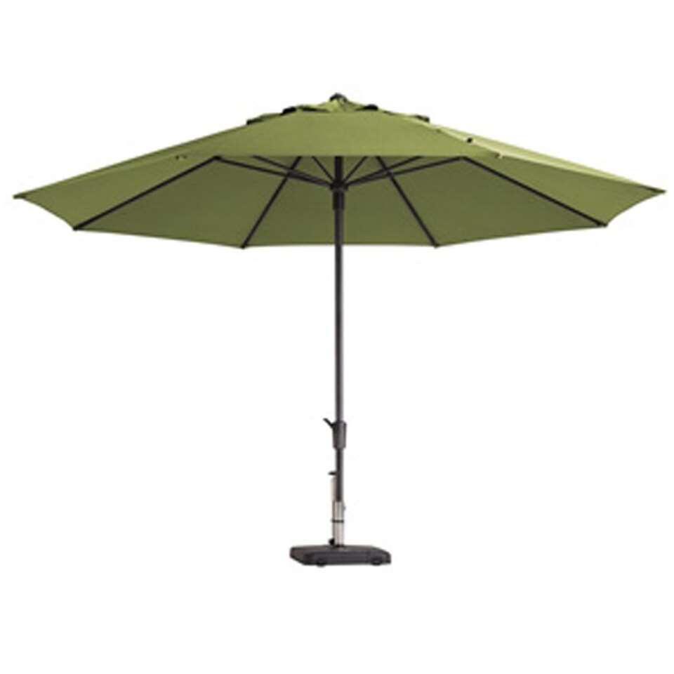 Madison parasol Timor - groen - Ø400 cm - Leen Bakker