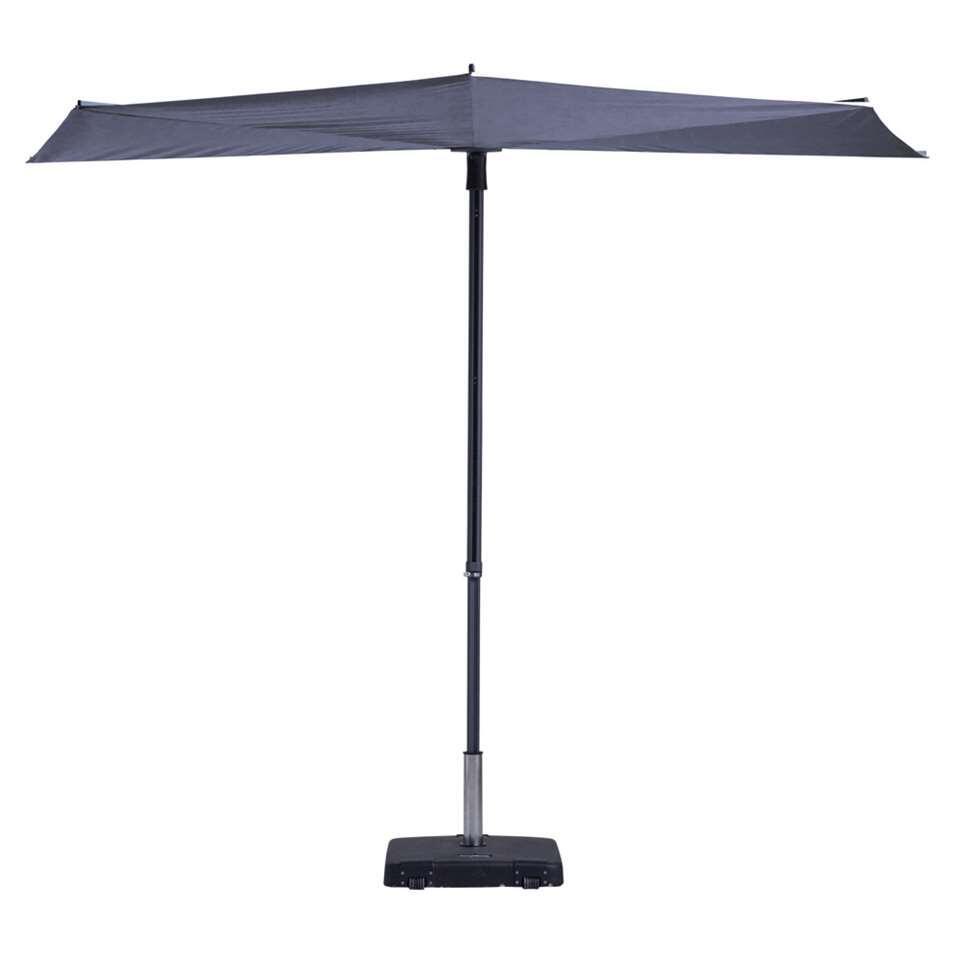 Madison parasol Sun Wave - blauw - Ø300 cm - Leen Bakker