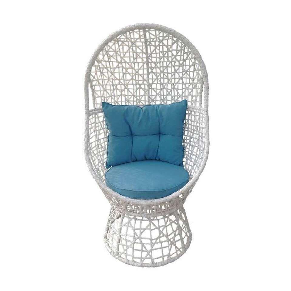 SenS-Line loungestoel Daisy - wit - Leen Bakker