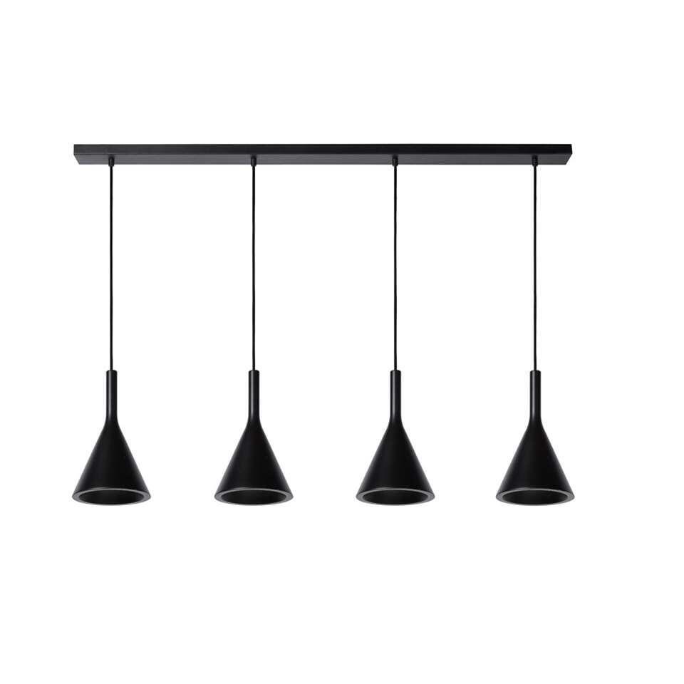 Lucide hanglamp Gipsy – zwart – Leen Bakker