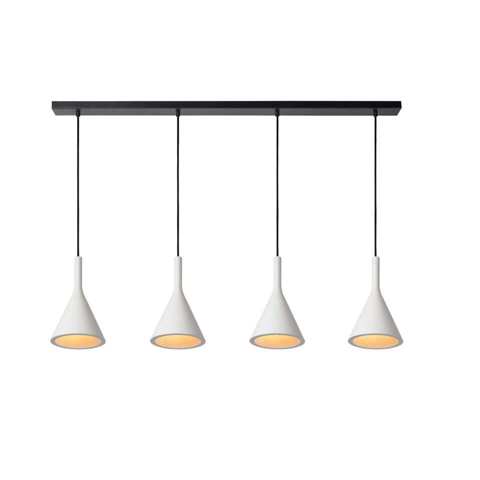 Lucide hanglamp Gipsy - wit - Leen Bakker