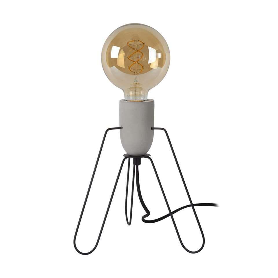 Lucide tafellamp Semih 24x24x26,5 cm - grijs - Leen Bakker