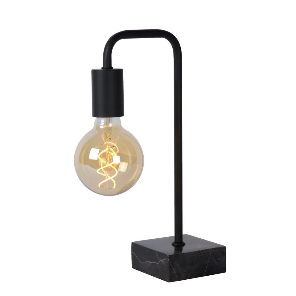 Lucide tafellamp Lorin - zwart - Leen Bakker