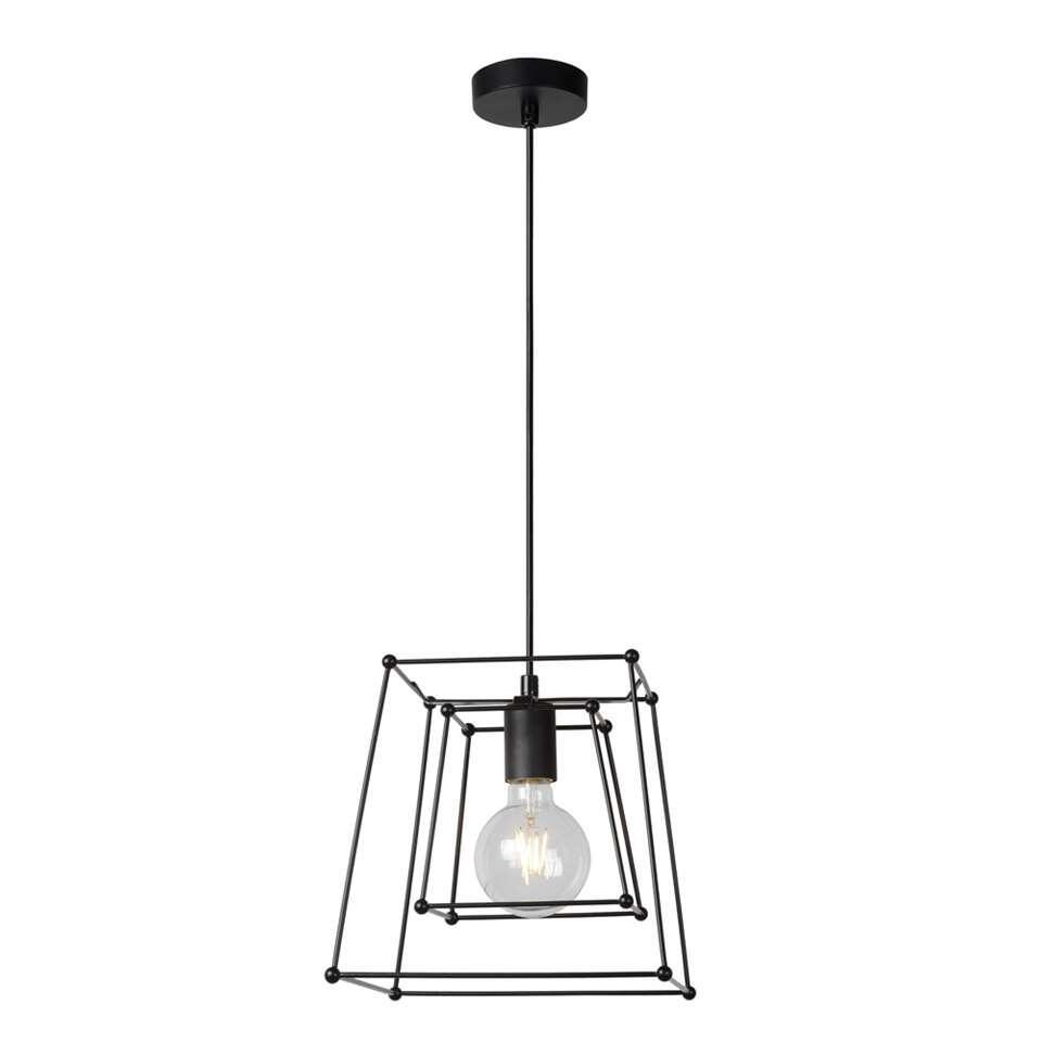 Lucide hanglamp Edgar - zwart
