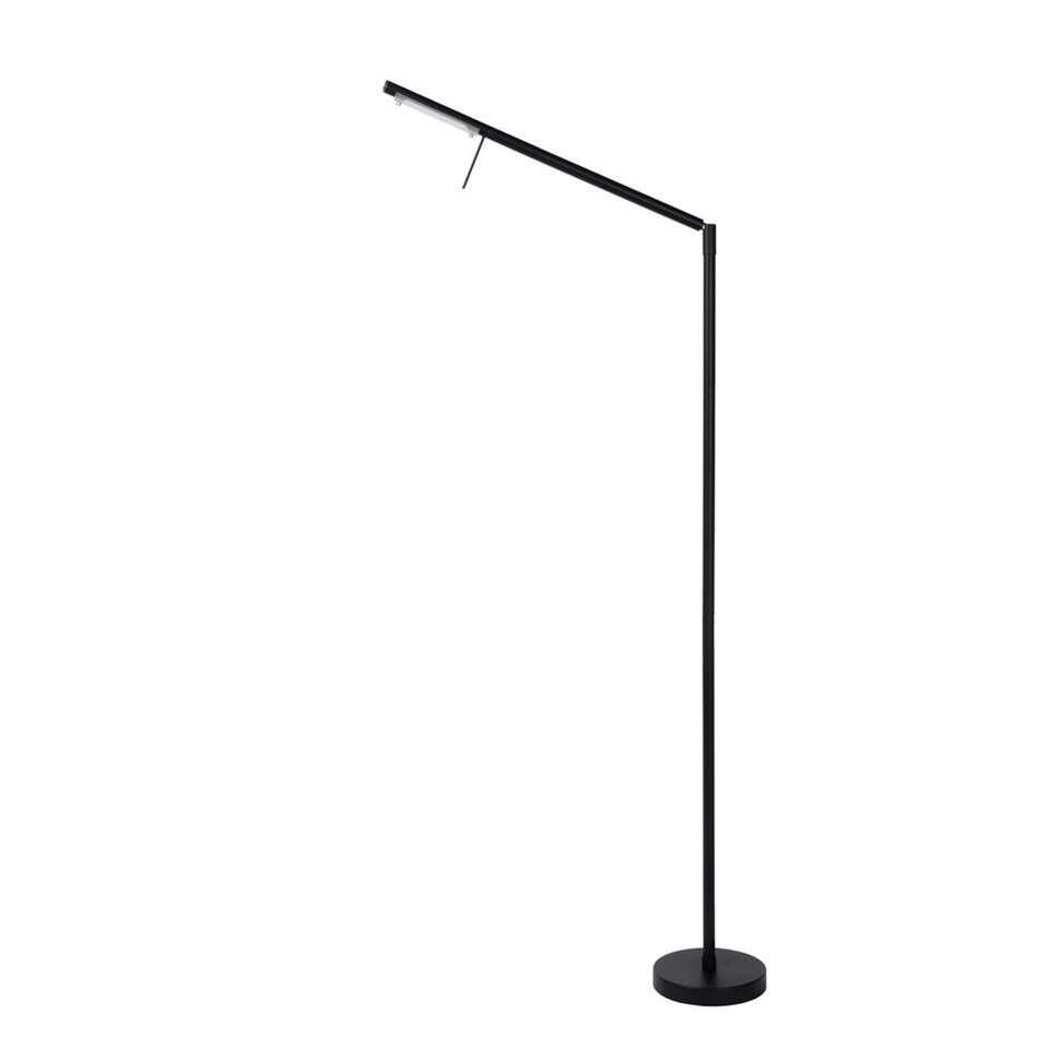 Lucide leeslamp Bergamo - zwart
