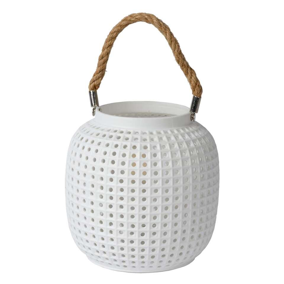 Lucide tafellamp Safiya - wit - Leen Bakker