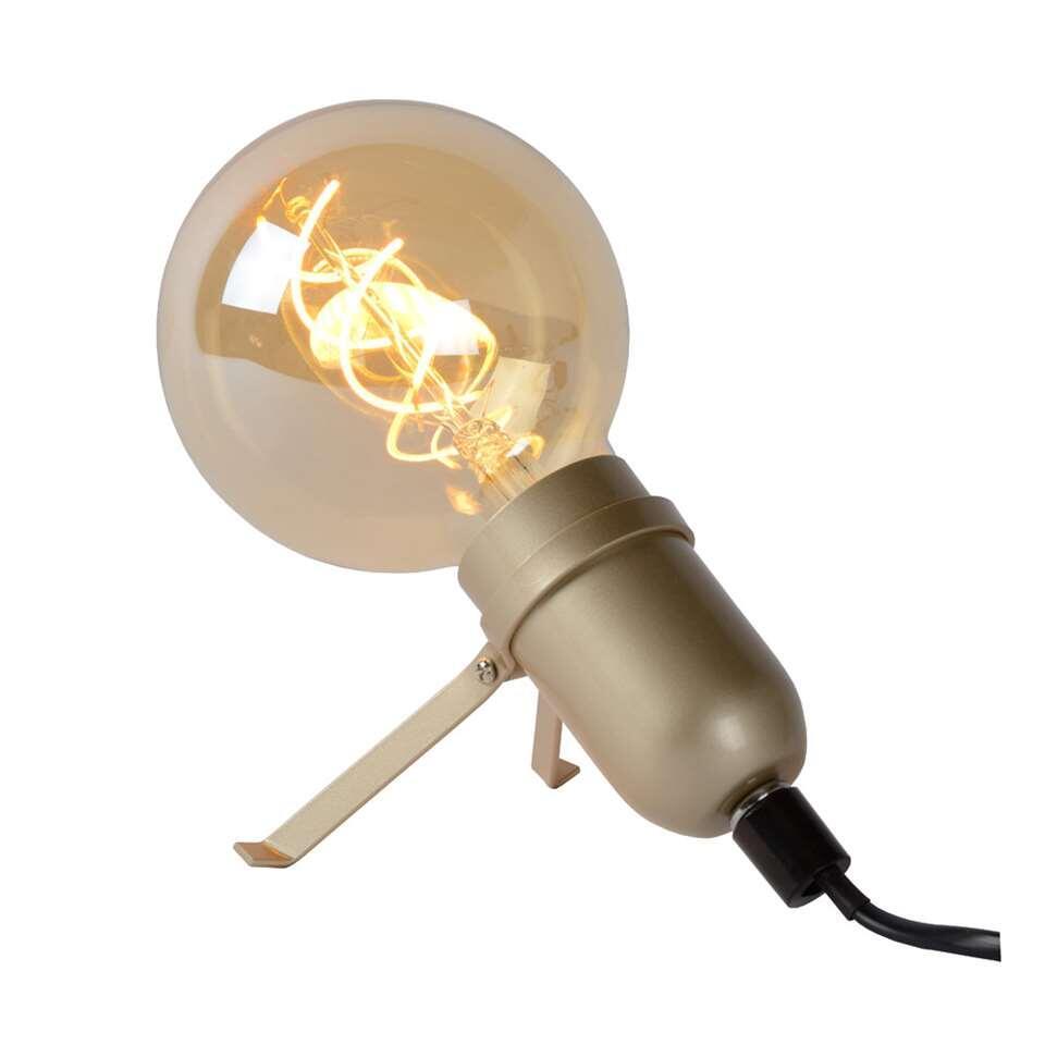Lucide tafellamp Pukki - mat goud