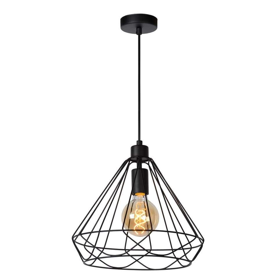 Lucide hanglamp Kyara Ø32 cm – zwart – Leen Bakker