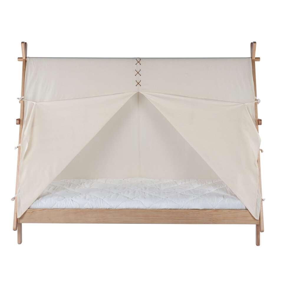 Bln Kids bed Apache - naturel - 175,8x104,7x219,4 cm - Leen Bakker