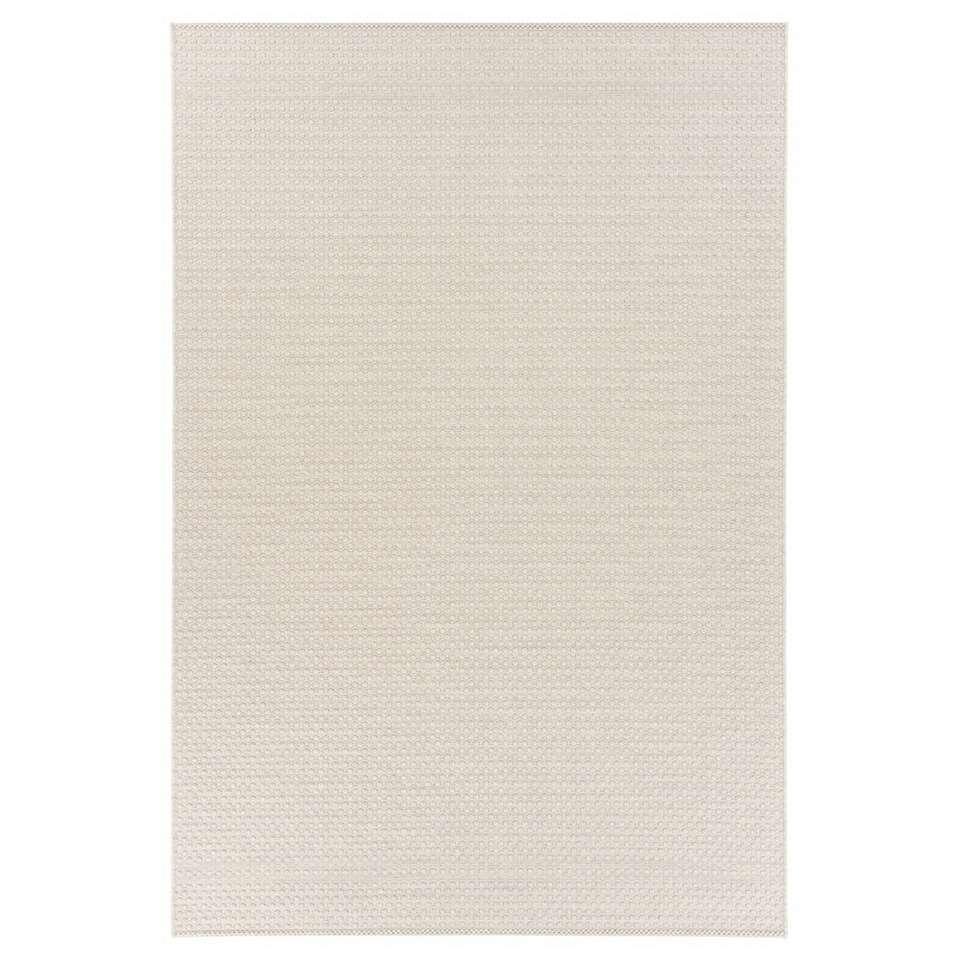 Floorita binnen/buitenvloerkleed Pallino - ecru - 155x230 cm - Leen Bakker