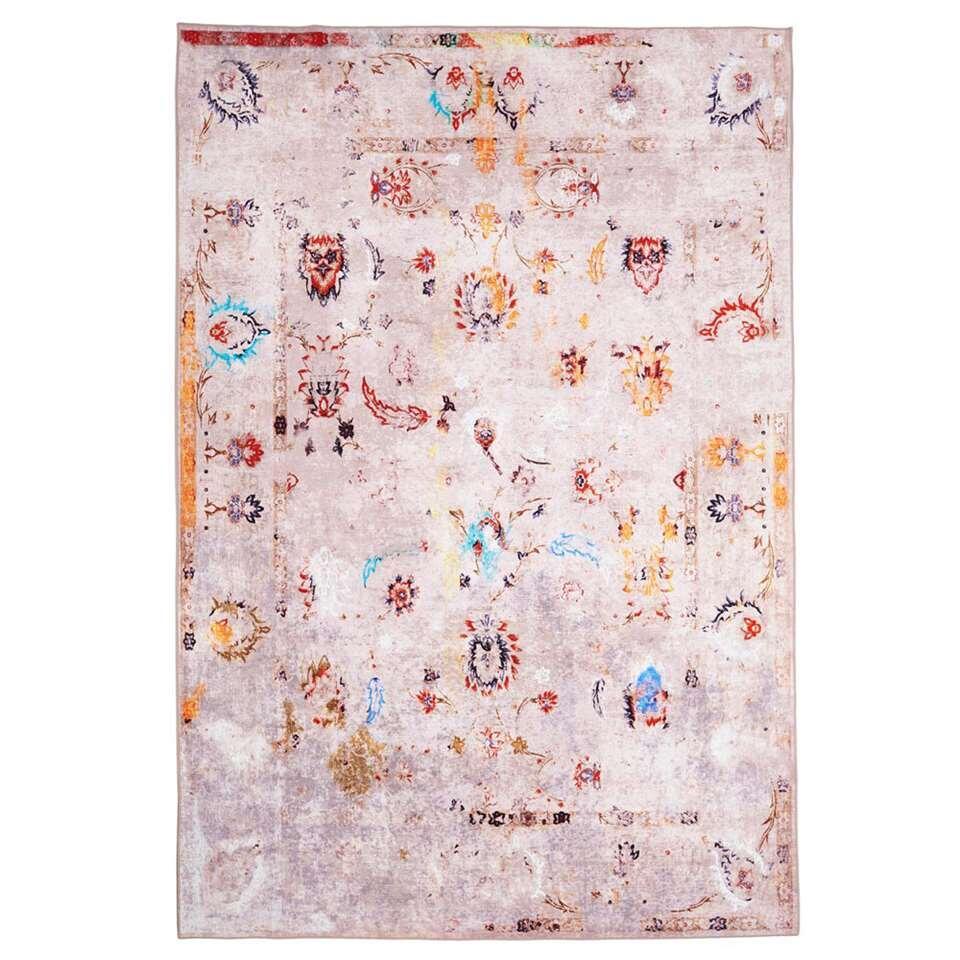 Floorita Easy-care vloerkleed Jardin - multikleur - 160x230 cm
