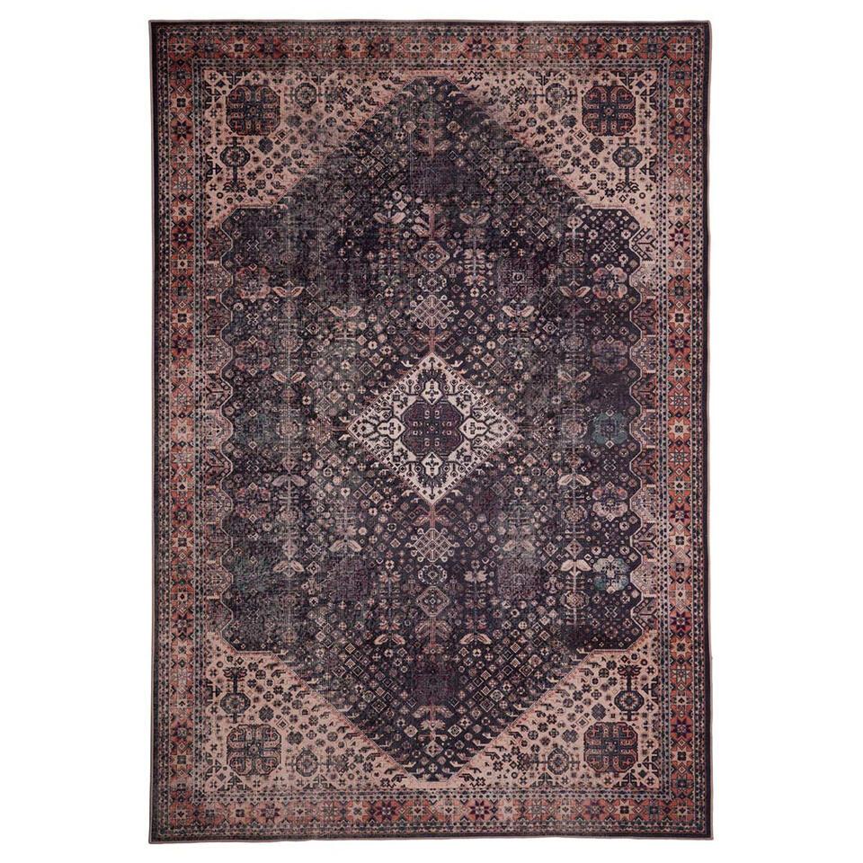 Floorita Easy-care vloerkleed Bidjar - grafiet - 160x230 cm