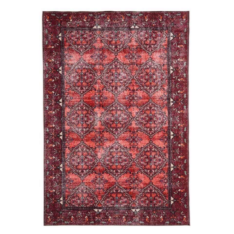 Floorita Easy-care vloerkleed Bosforo - terra - 160x230 cm - Leen Bakker