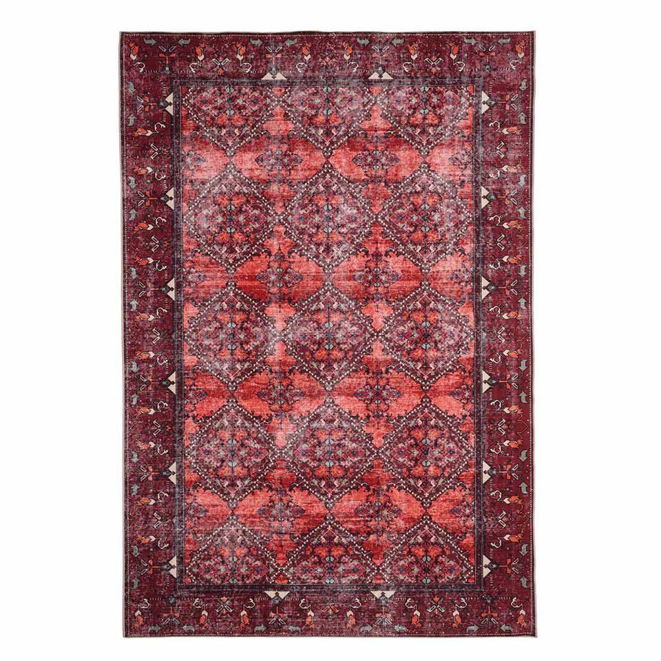 Floorita Easy-care vloerkleed Bosforo - terra - 200x290 cm - Leen Bakker