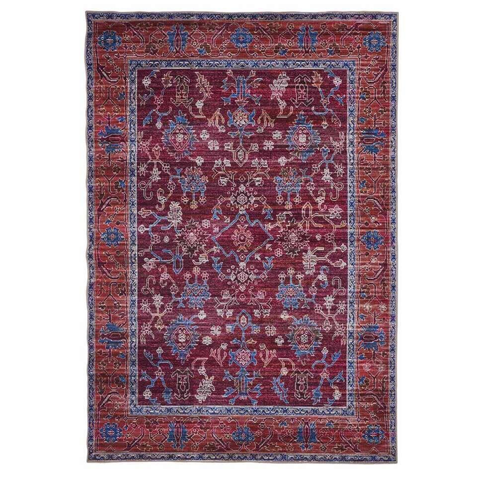 Floorita Easy-care vloerkleed Bagdad – multikleur – 200×290 cm – Leen Bakker
