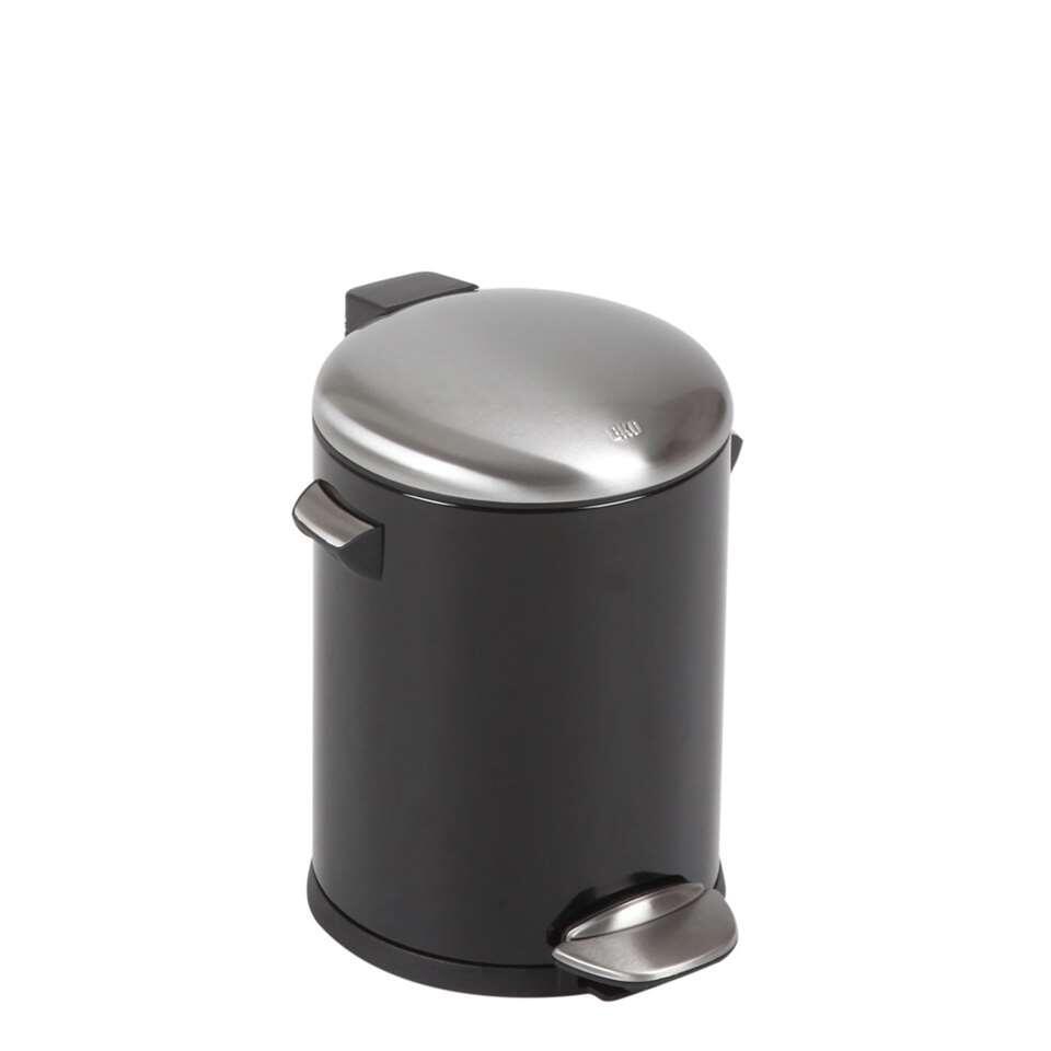 EKO pedaalemmer Belle DeLuxe - zwart - 5l