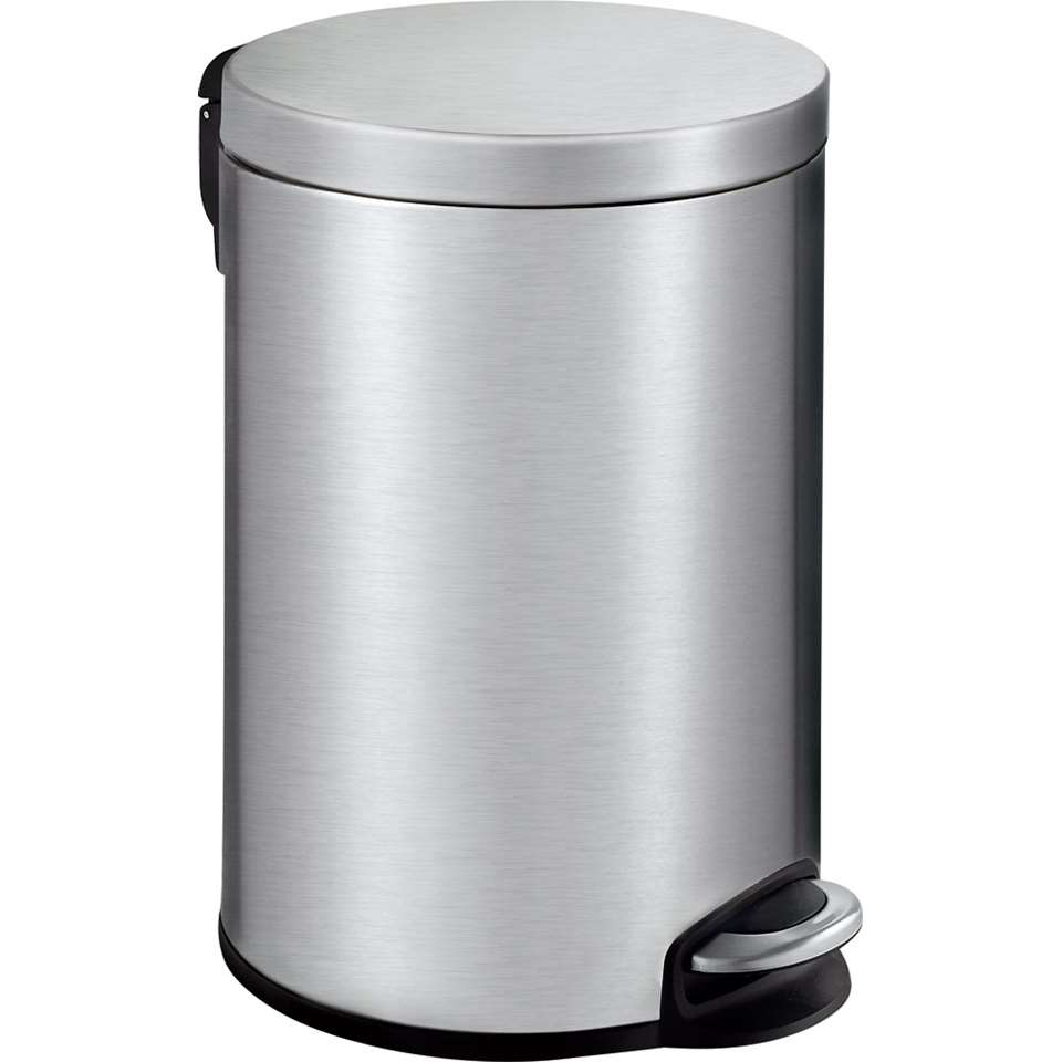 EKO pedaalemmer Serene - zilverkleurig - 12l - Leen Bakker