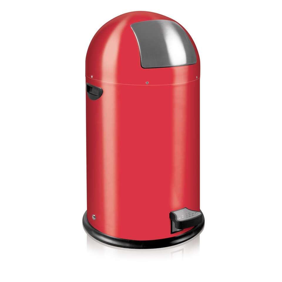 EKO pedaalemmer Kickcan - rood - 33l