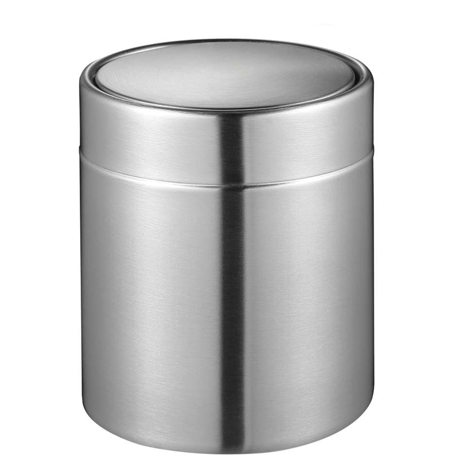 ¥EKO tafelafvalbakje Fandy - zilverkleurig - 1,5l¥ - Leen Bakker
