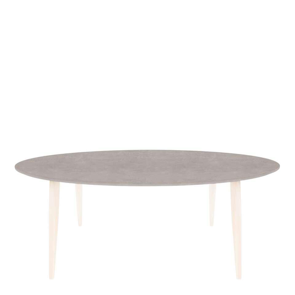 Demeyere salontafel Manon - ovaal - grijs