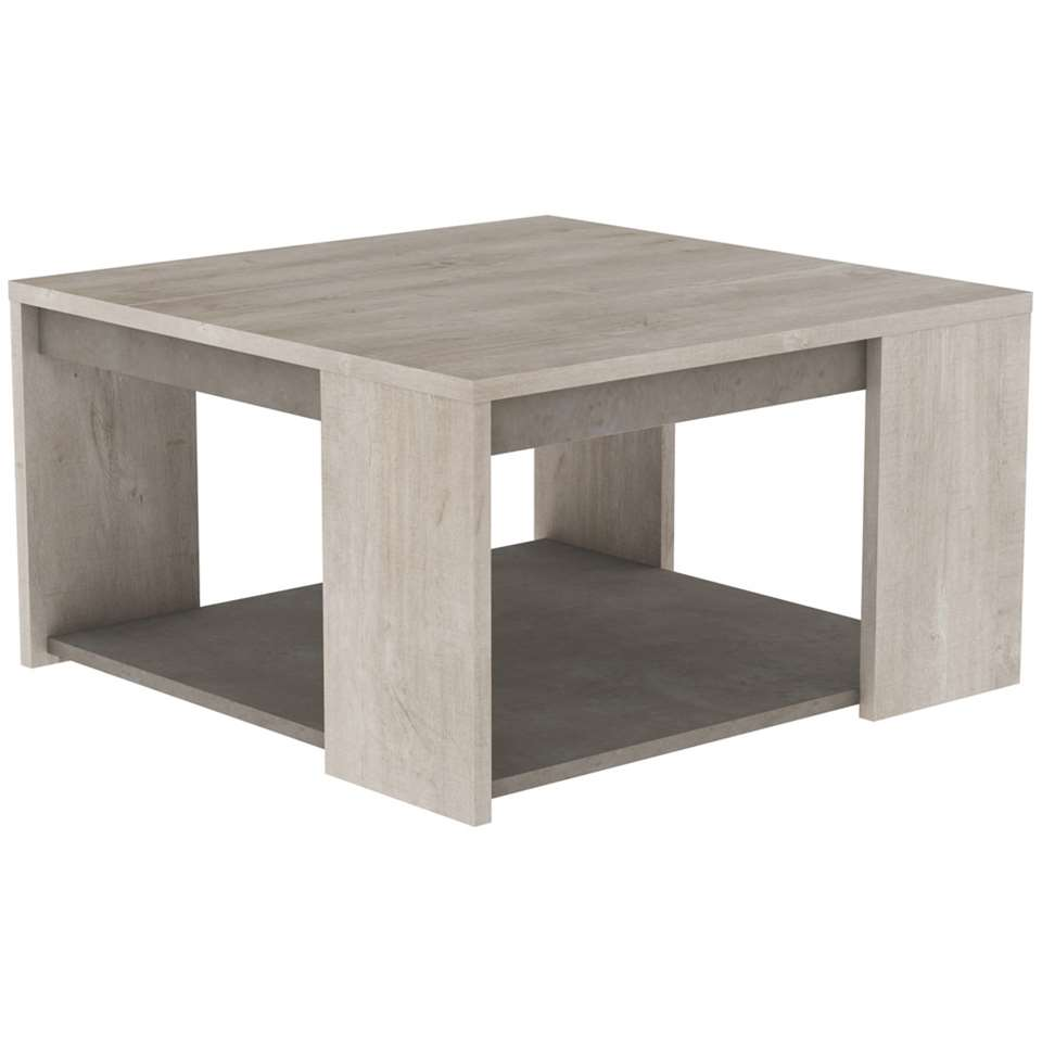 Demeyere salontafel Antibes - bruin - Leen Bakker