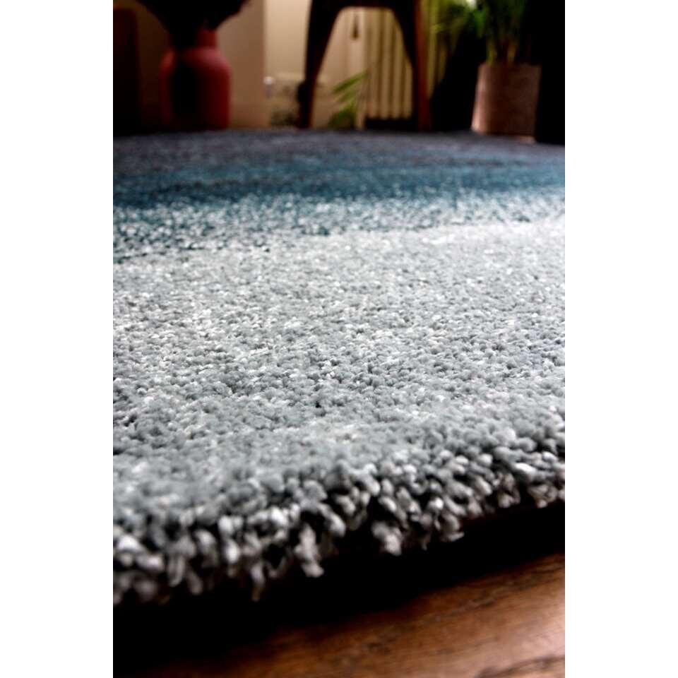 Art for Kids vloerkleed Ombre - blauw - 120x170 cm - Leen Bakker