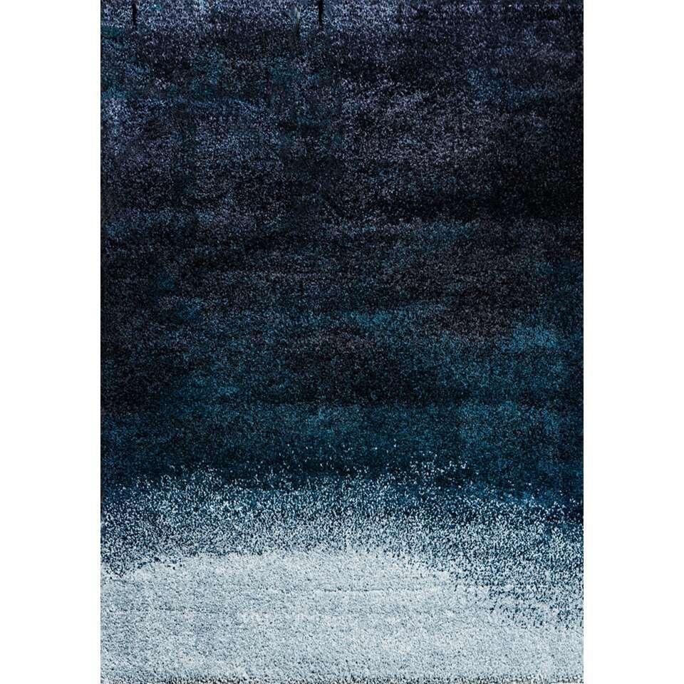 Art for Kids vloerkleed Ombre - blauw - 160x230 cm - Leen Bakker