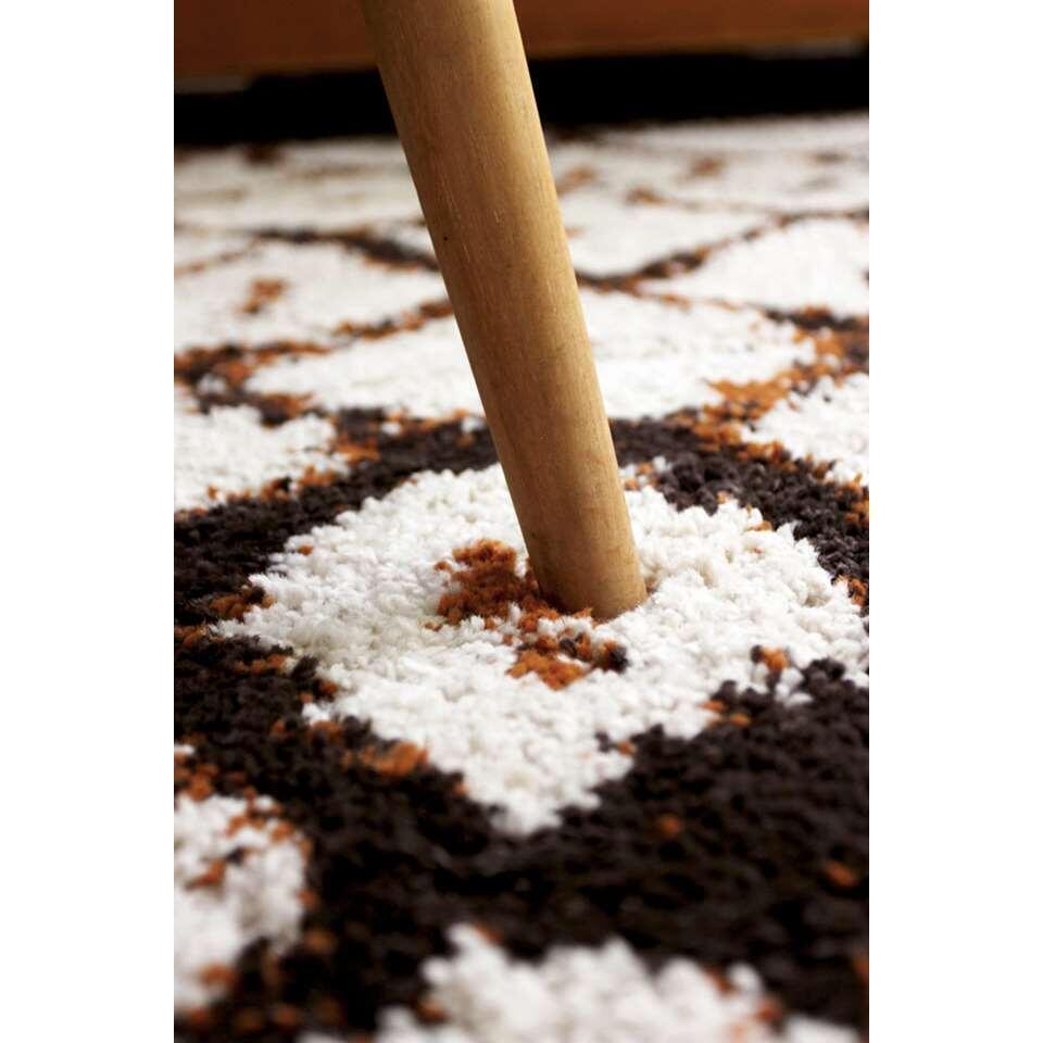 Art for Kids vloerkleed Marrakech - bruin/oranje - 160x230 cm - Leen Bakker
