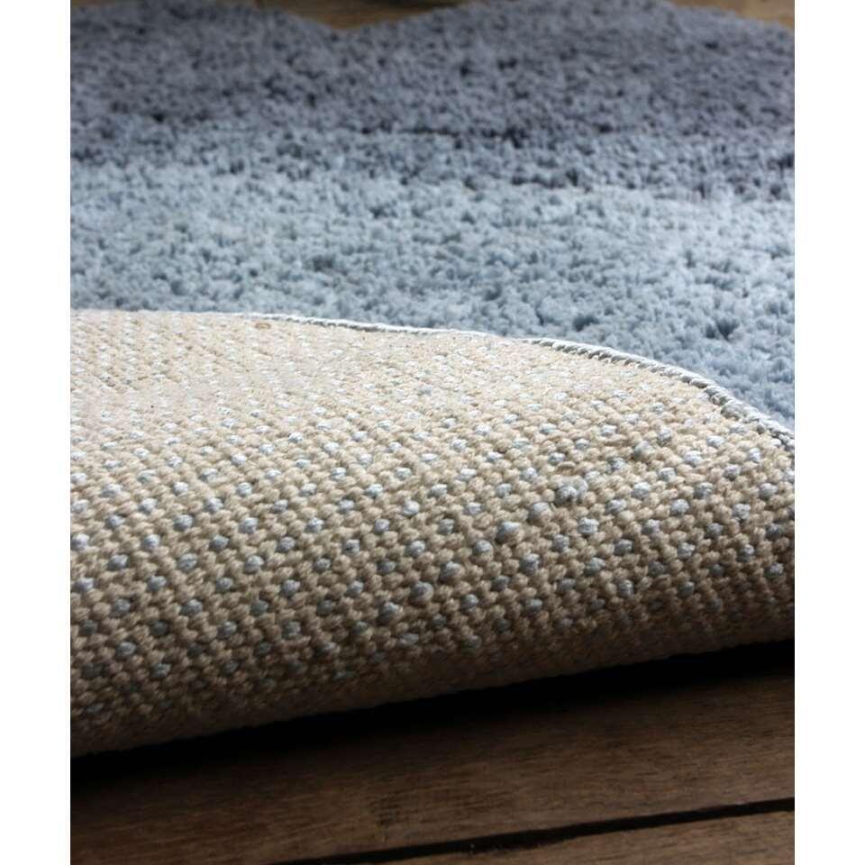 Art for Kids vloerkleed Wolken - blauw - 65x100 cm - Leen Bakker