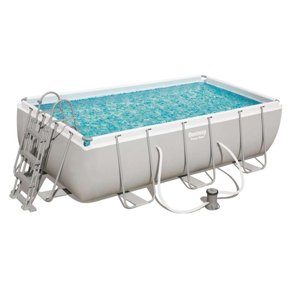 Bestway zwembad Mistral - set rechthoek 404 - Leen Bakker