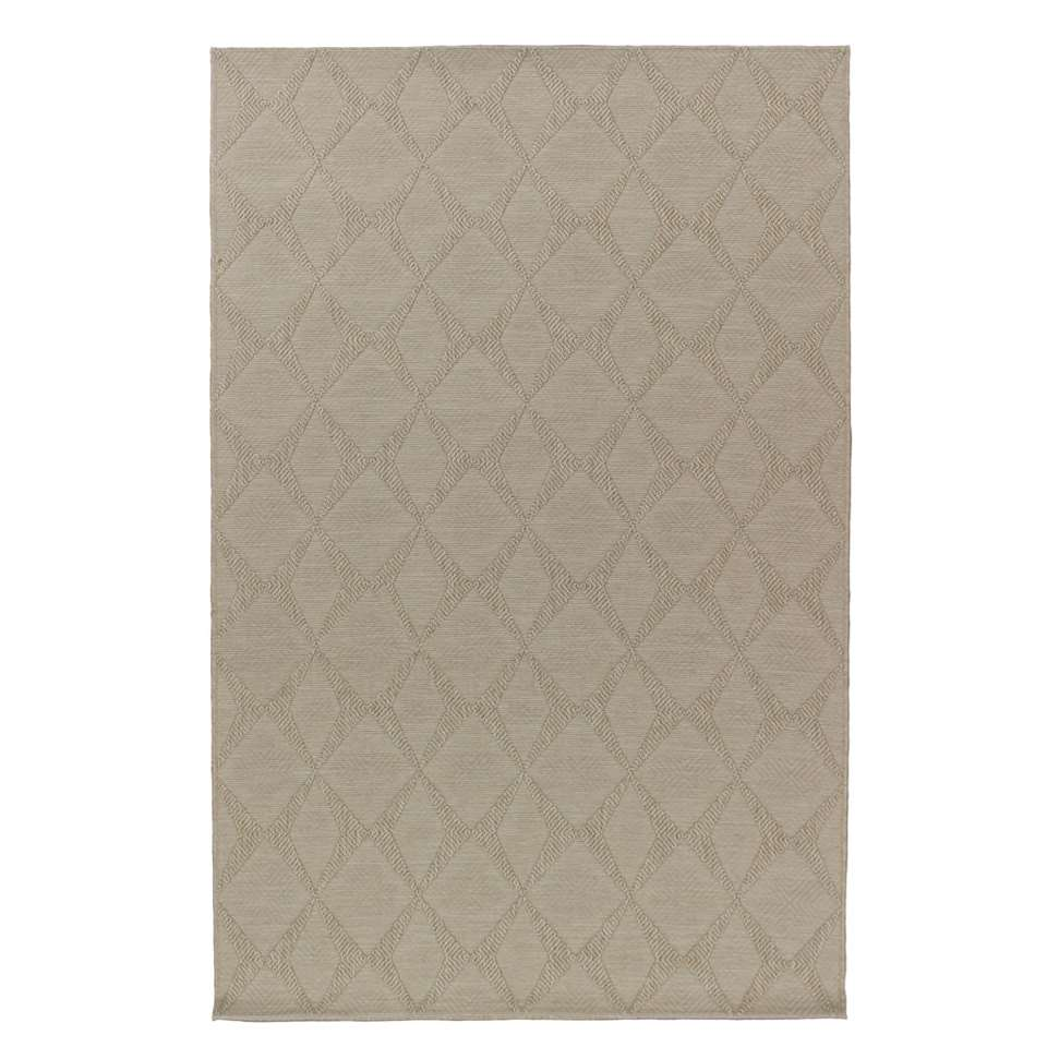 Vloerkleed Lundby - beige - 120x170 cm - Leen Bakker