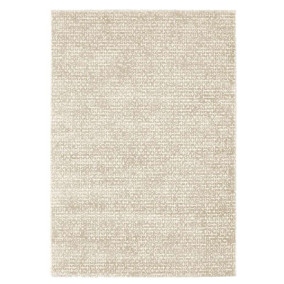 Vloerkleed Nordby - beige/crème - 160x230 cm - Leen Bakker