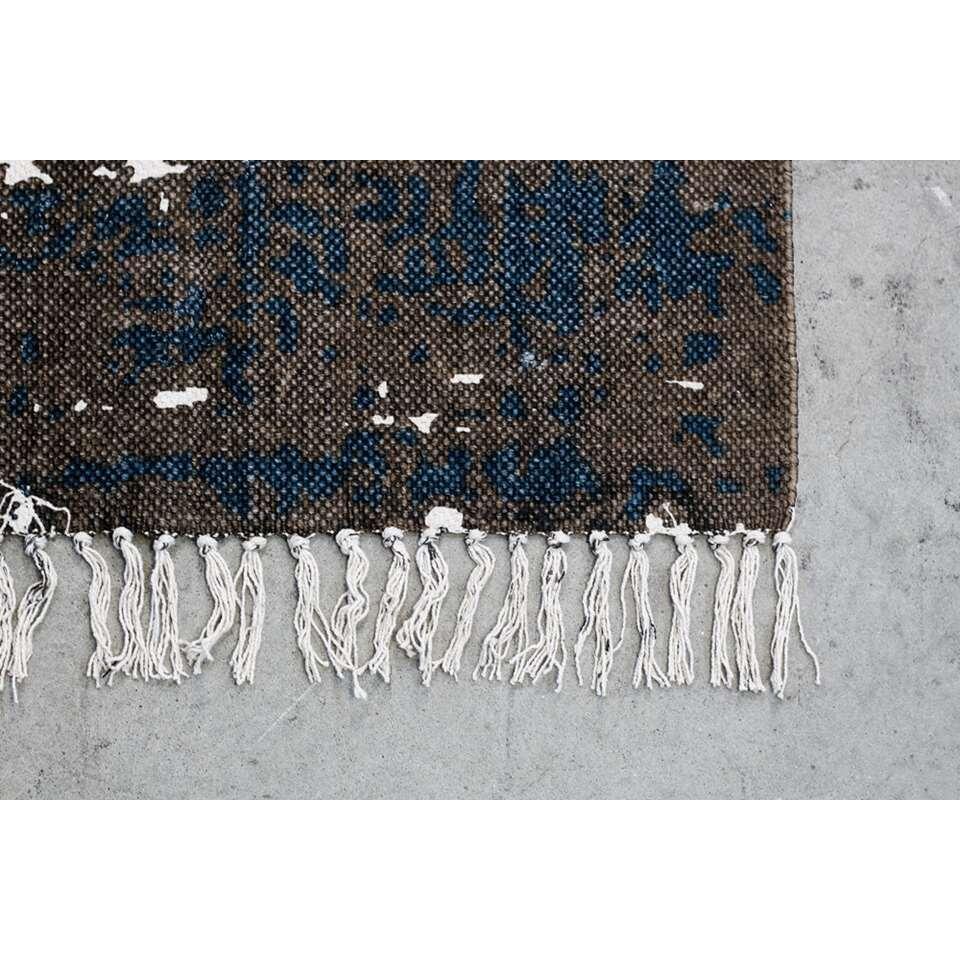HSM Collection vloerkleed Vive - teal/beige - 180x120 cm - Leen Bakker