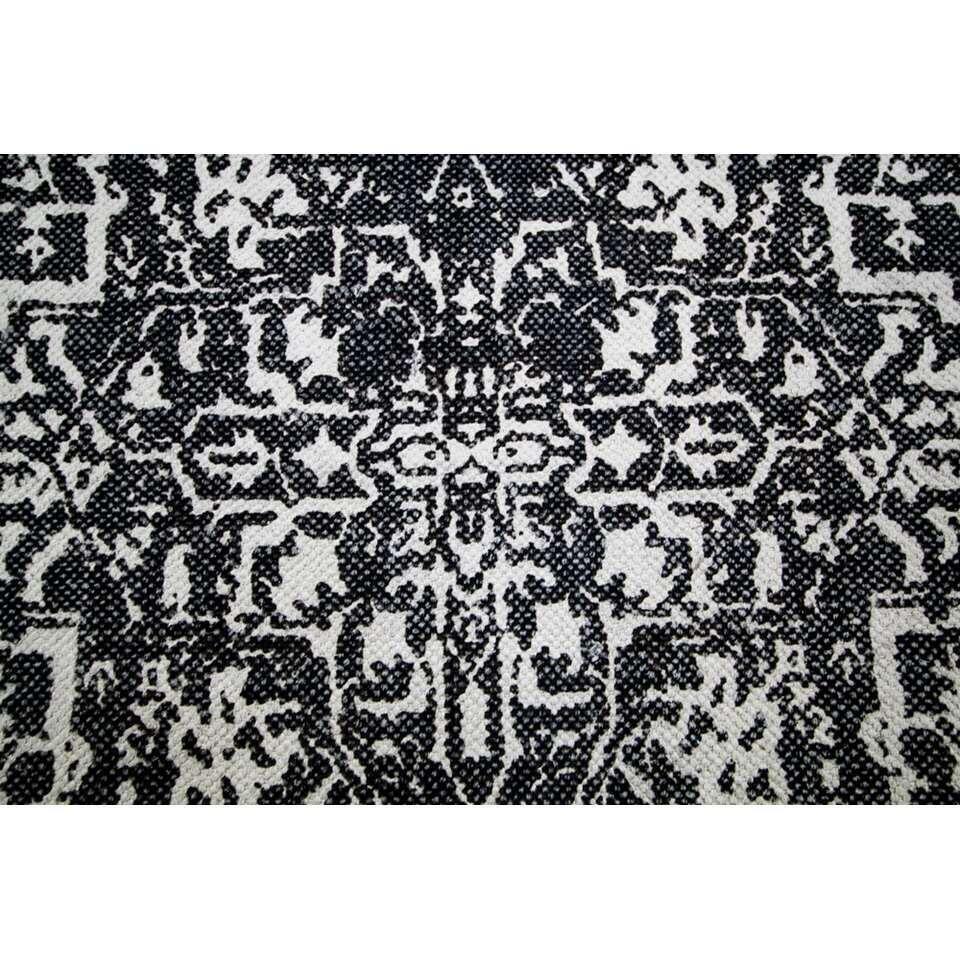 HSM Collection vloerkleed Orita - zwart/bruin - 180x120 cm - Leen Bakker
