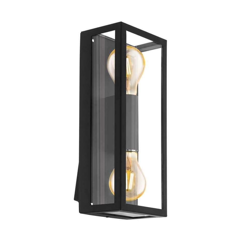 EGLO buiten-LED-wandlamp Alamonte - zwart