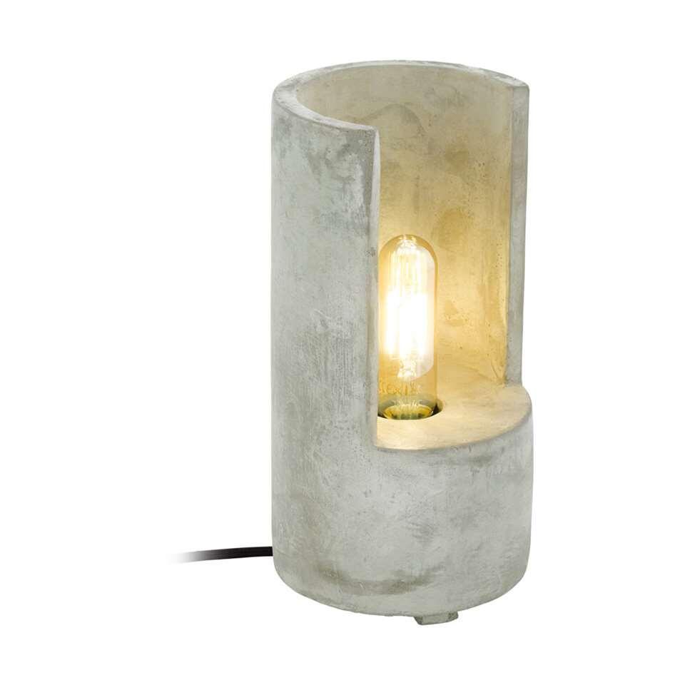 EGLO tafellamp Lynton 27 cm - betonkleur