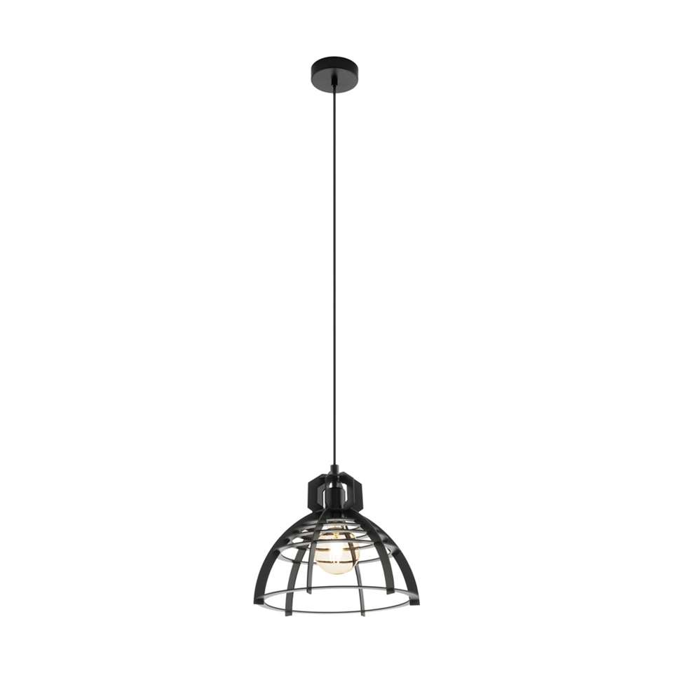 EGLO hanglamp Ipswich 32 cm - zwart
