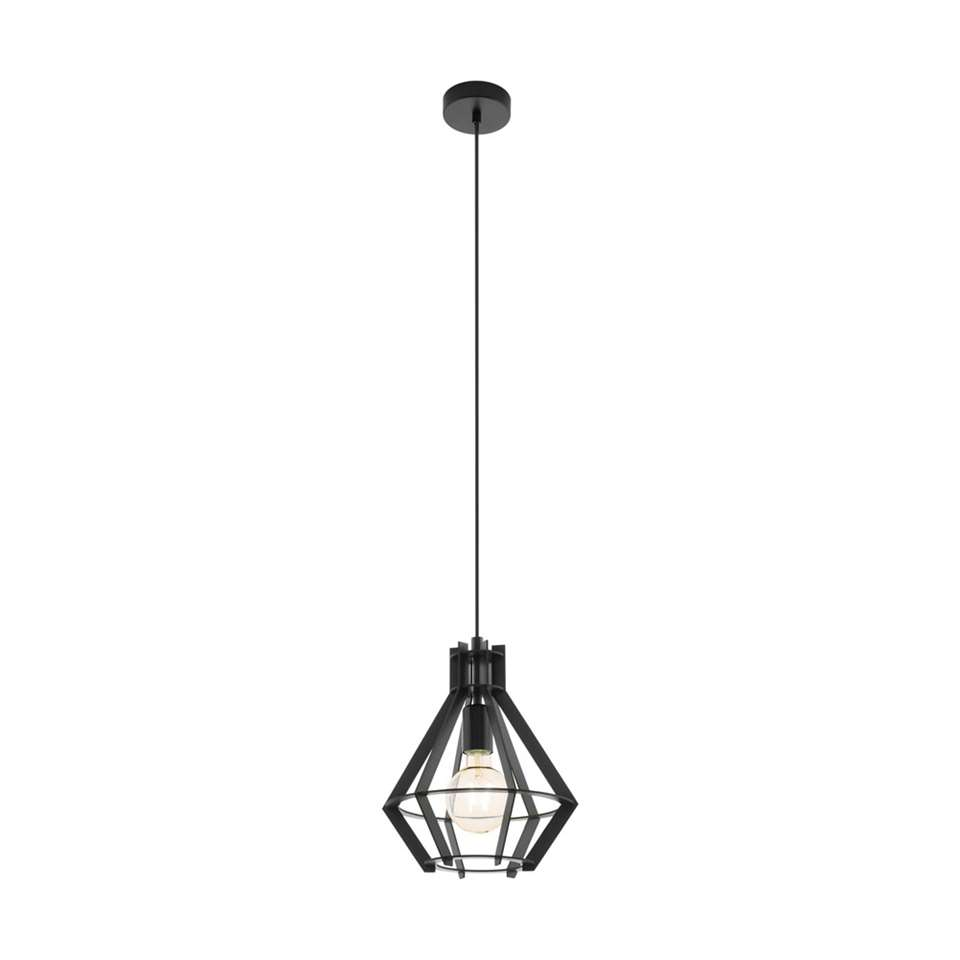 EGLO hanglamp Ipswich 28 cm - zwart