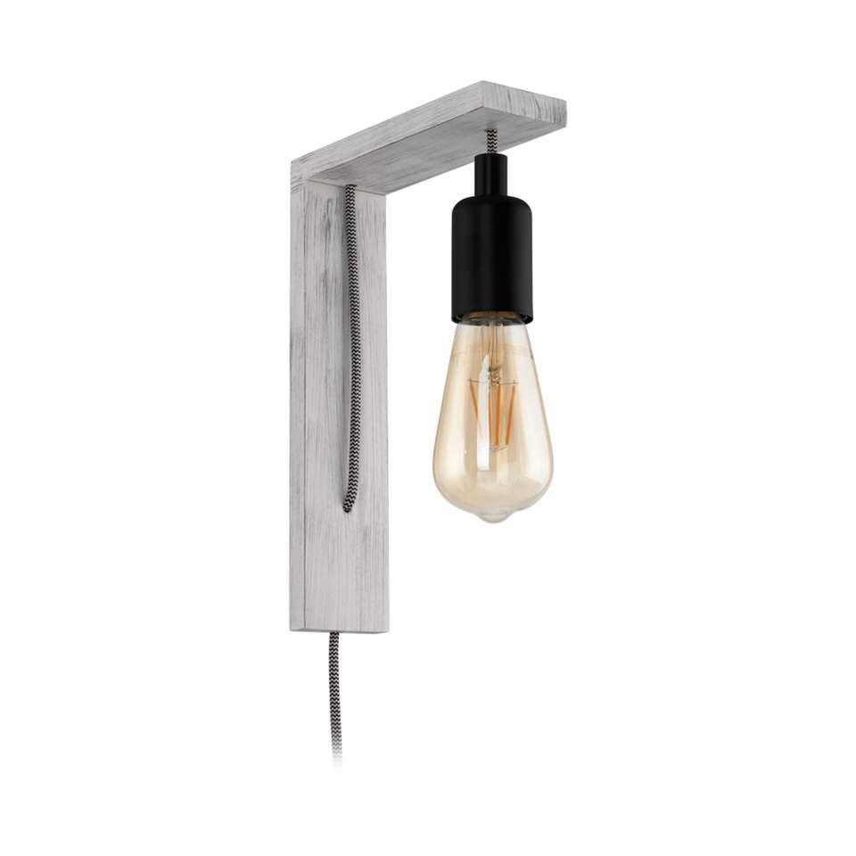 EGLO wandlamp Tocopilla - wit/zwart
