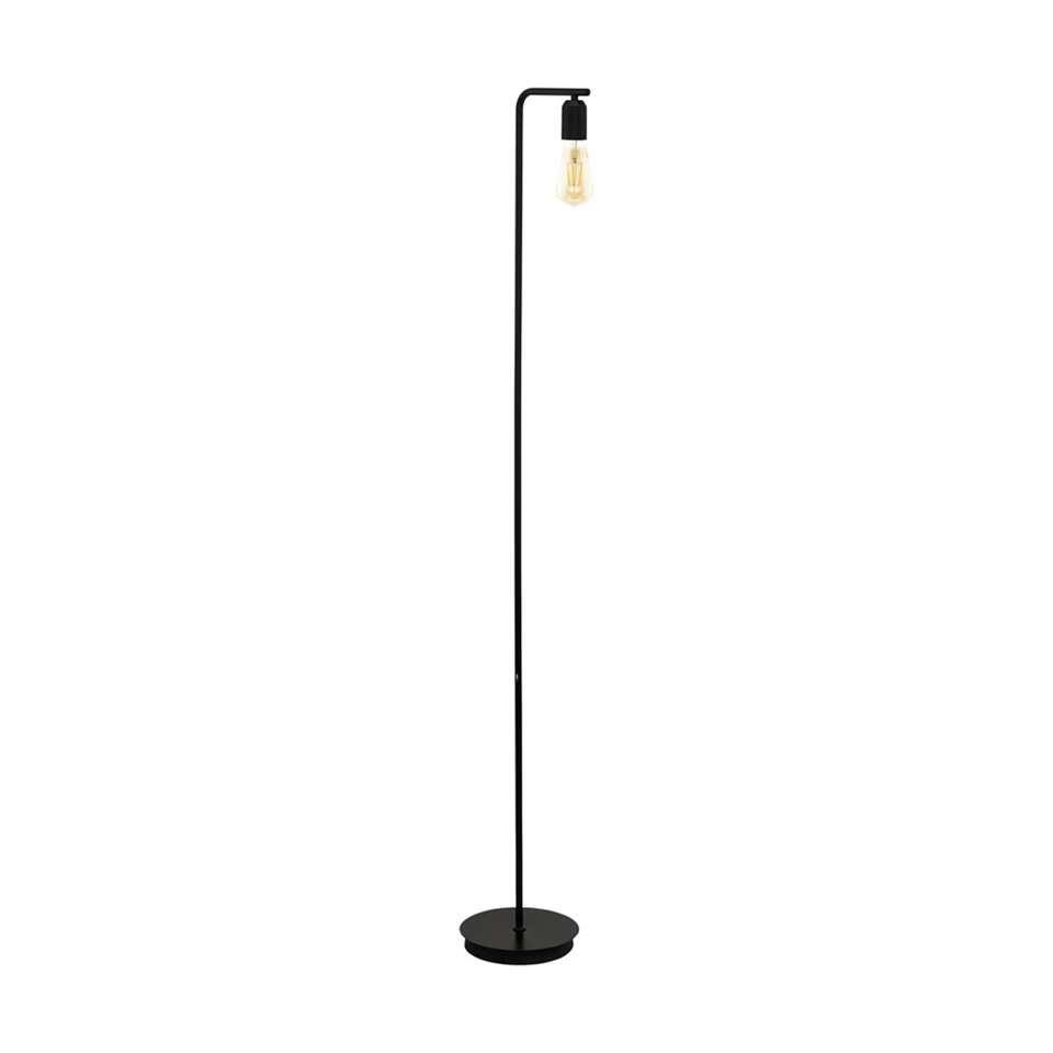 EGLO vloerlamp Adri - zwart - Leen Bakker